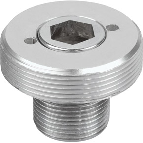 Whirly PTO Bolt, Silver