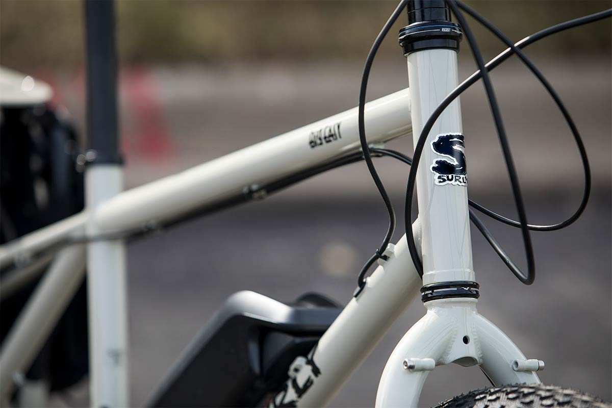 Big Easy headtube and fork detail