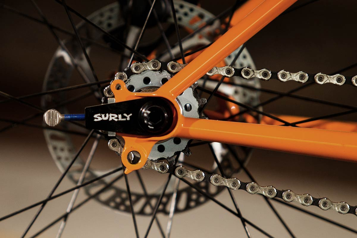 lowside surly fixie mountain bike