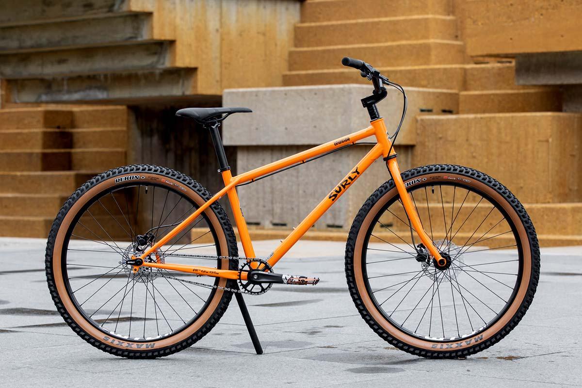 """27.5"""" single-speed mountain bike Surly Lowside"""