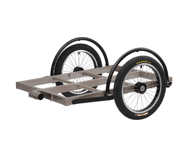 how to make a bike trailer axle