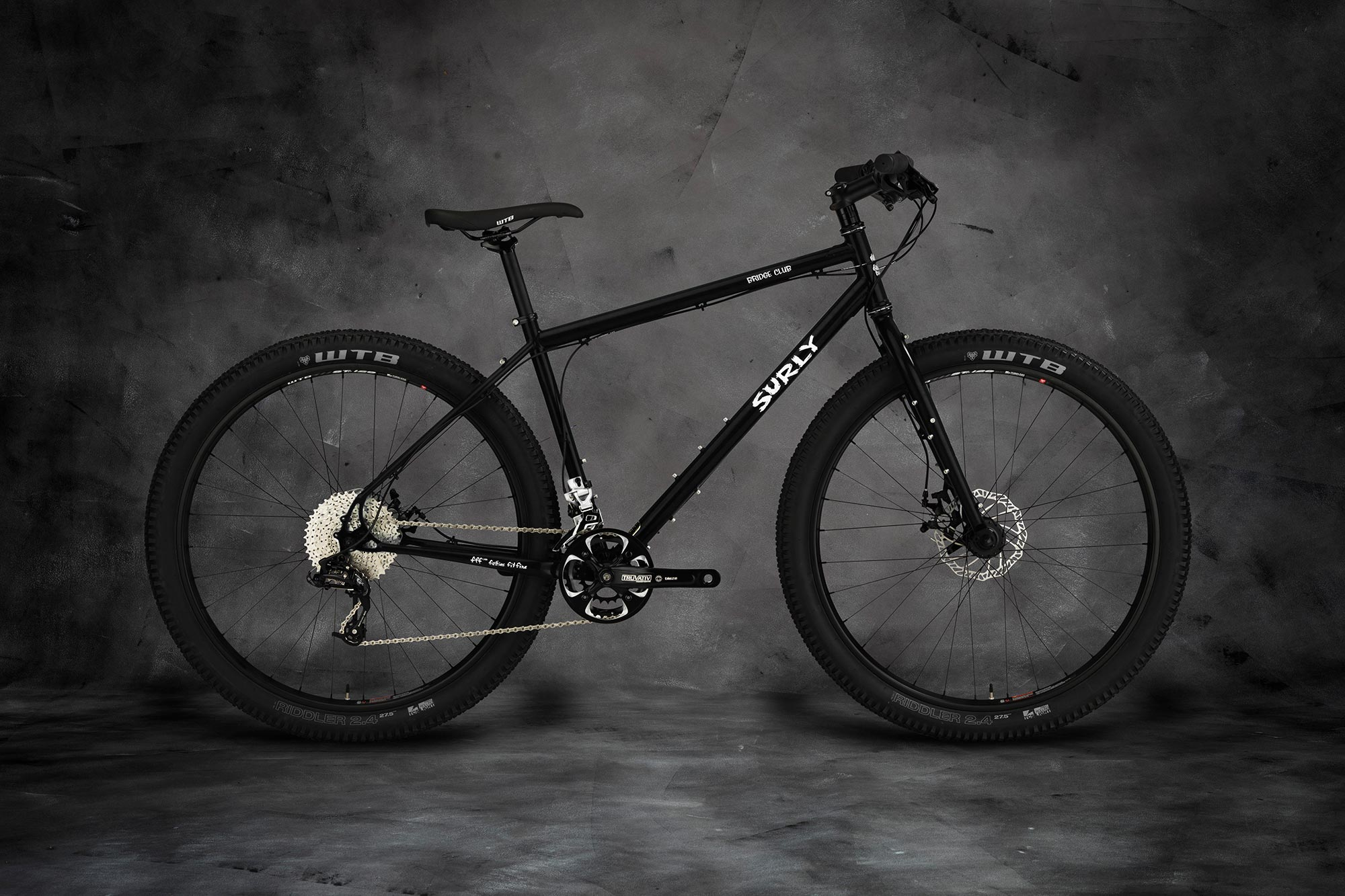 Bridge Club bike - Dark Black 2x