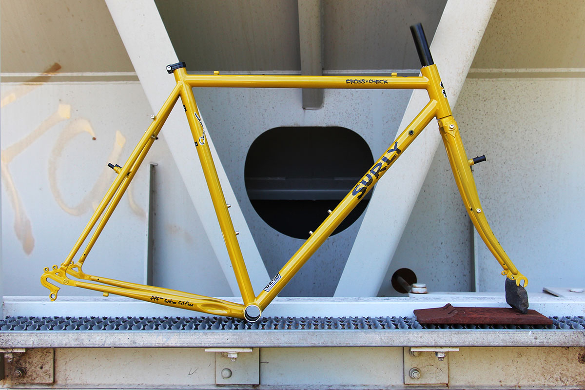 Cross-Check Stoned Ground Frameset side view