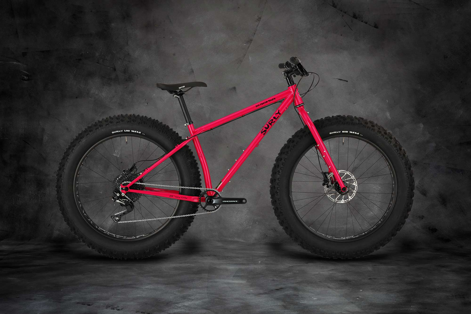 Surly Ice Cream Truck Fat Bike - Prickly Pear - right side view
