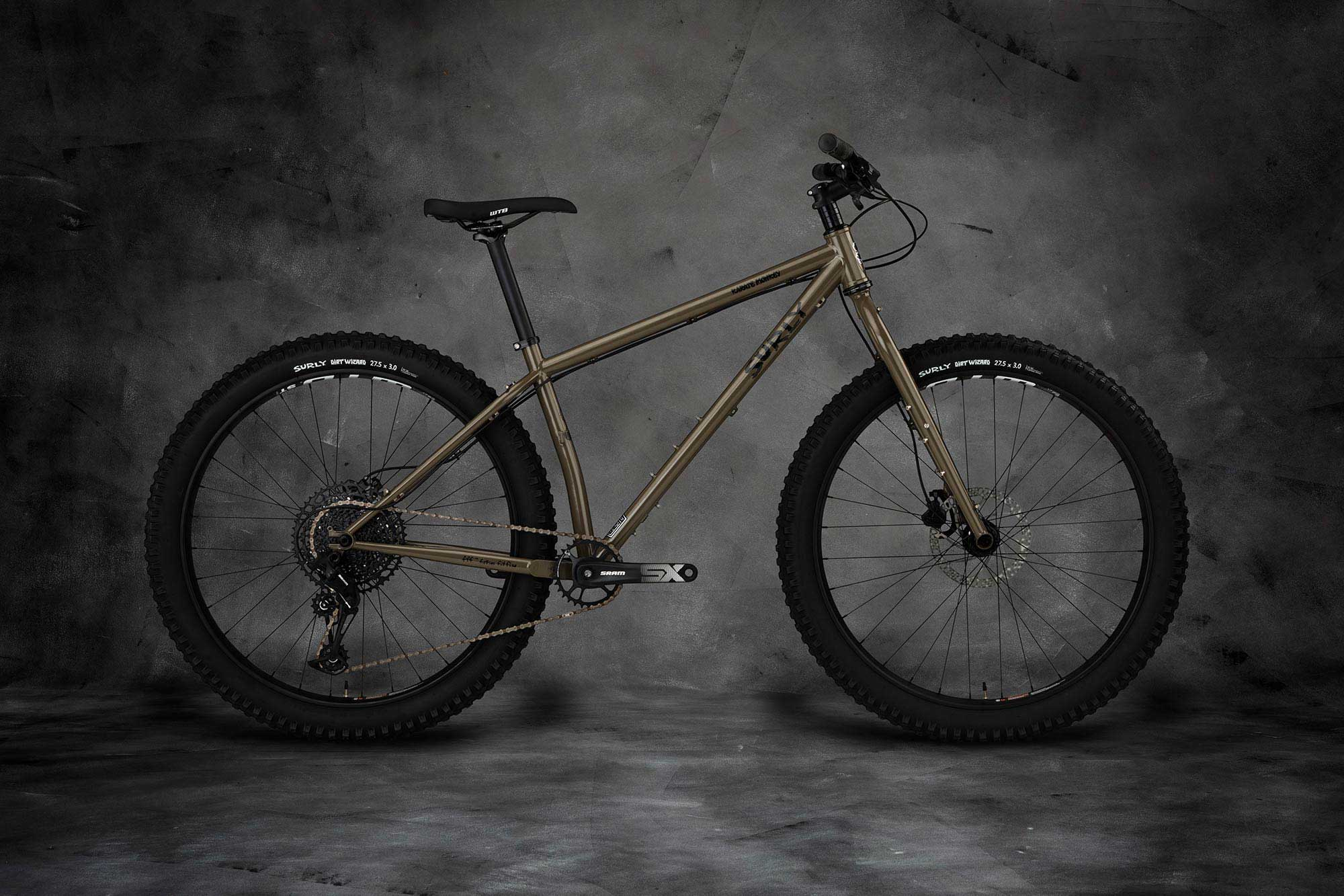 Surly Karate Monkey Bike - Wet Clay - right side view