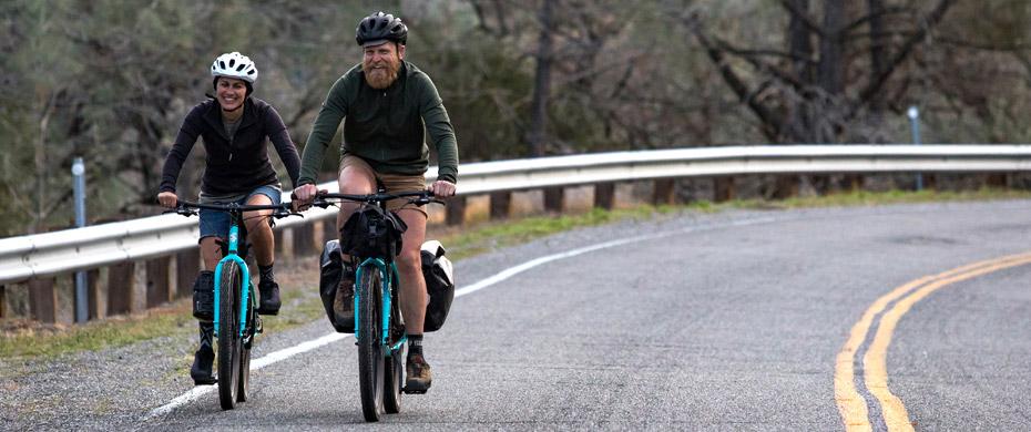 Bridge Club riding on road