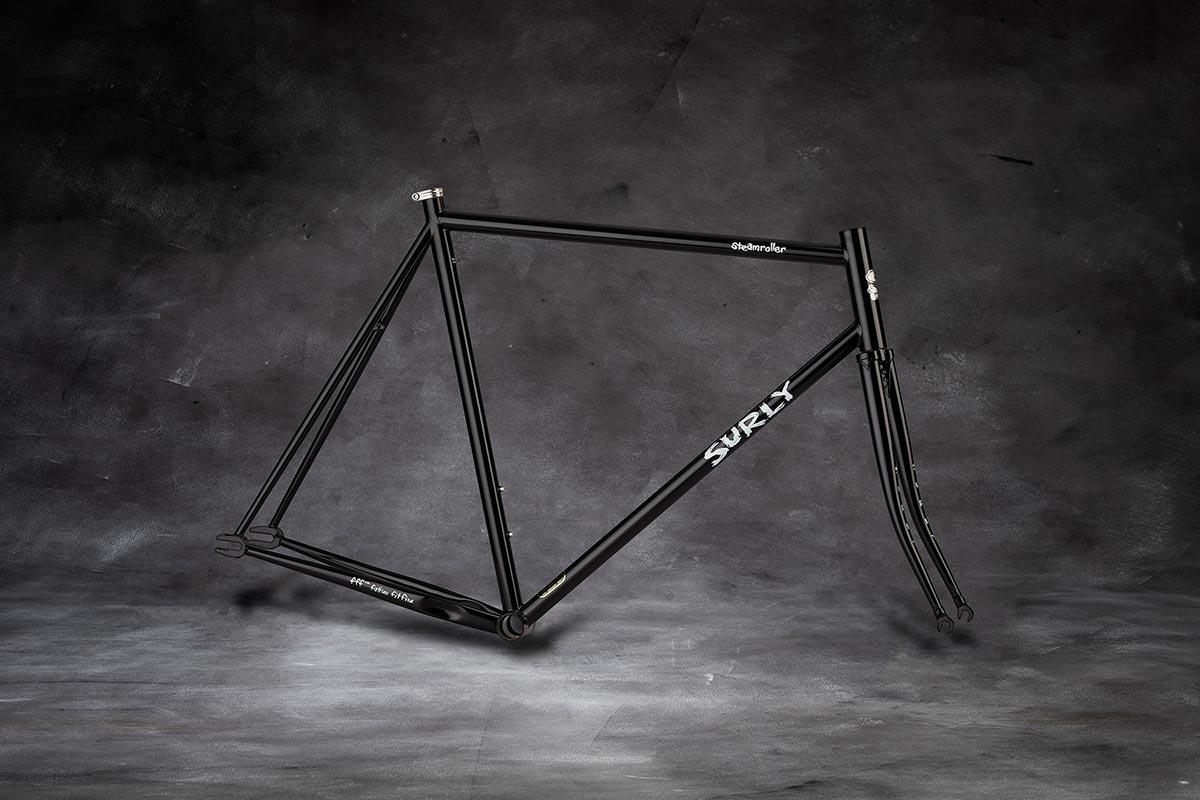 Surly Steamroller Frameset - Black