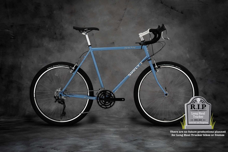 Surly Long Haul Trucker Bike 700c - Blue Suit of Leisure
