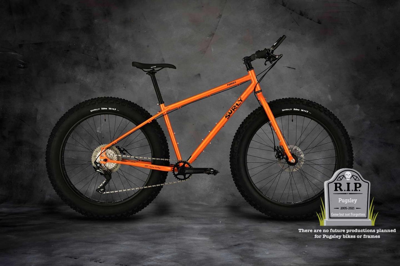 Pugsley Bike Candied Yam Orange