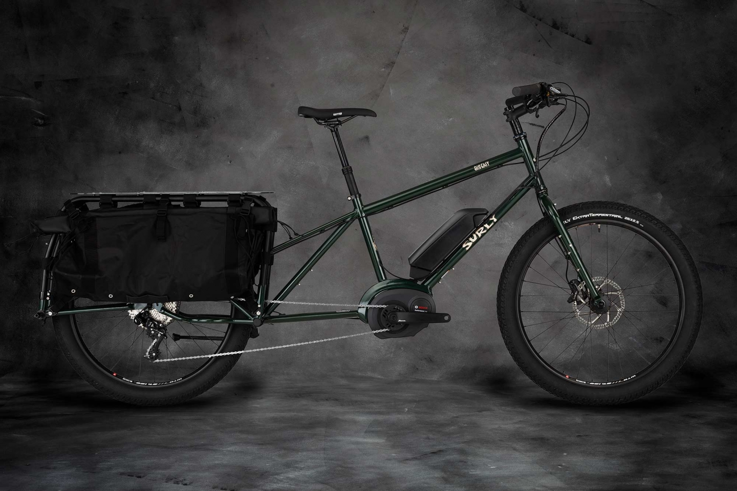 Surly Big Easy Cargo eBike - Forest Green