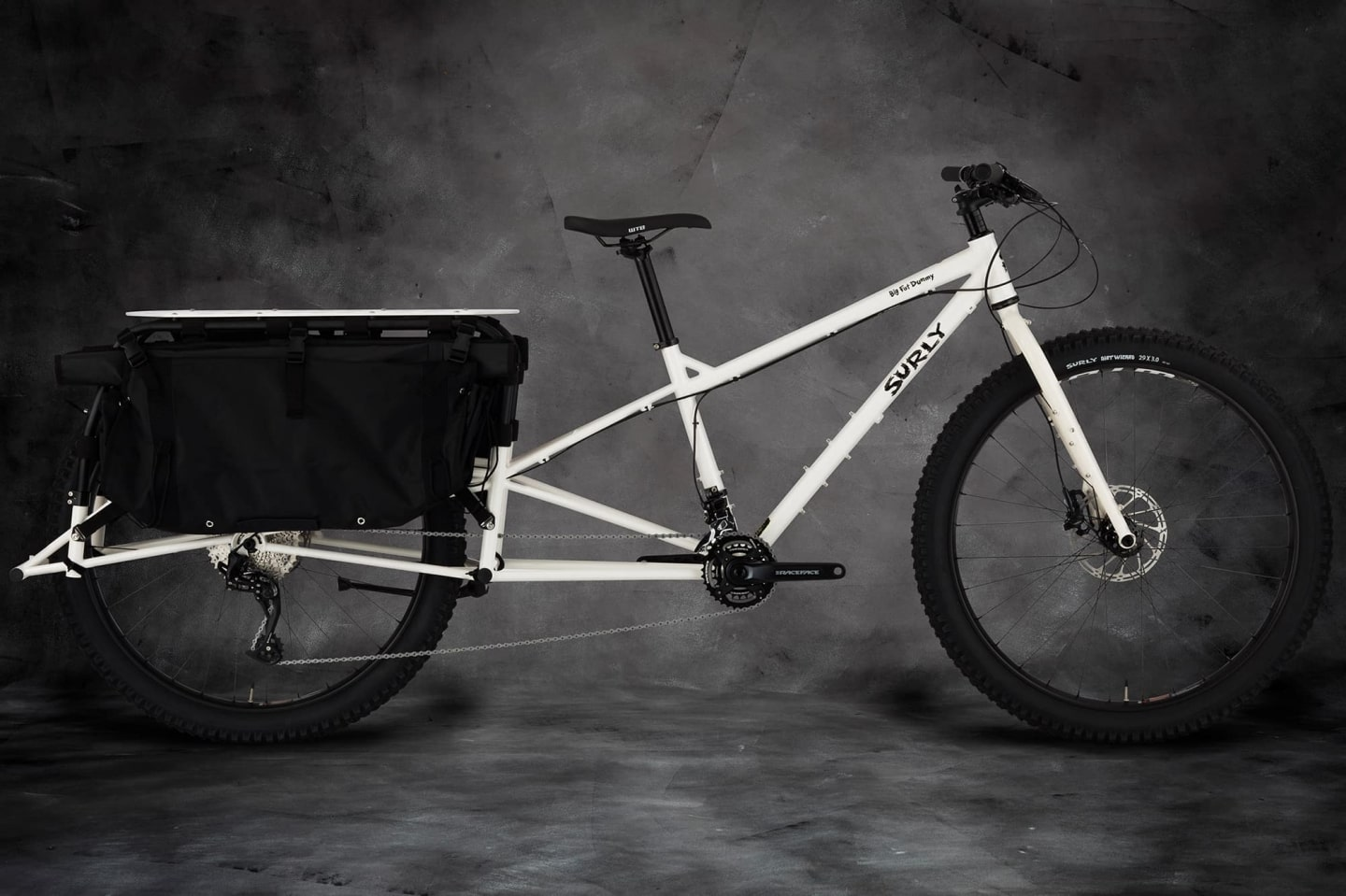Big Fat Dummy BIke Thorofrost White