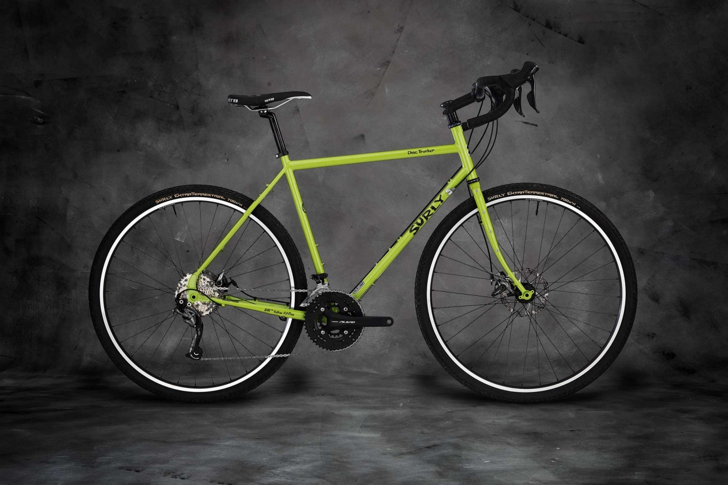 Disc Trucker 700c complete, Pea Lime Soup