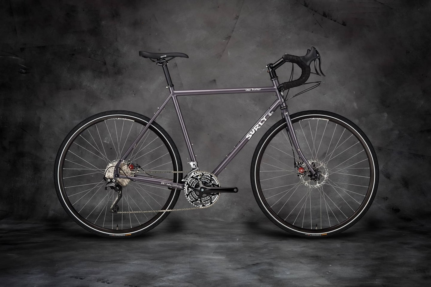 Disc Trucker Bike Bituminous Gray