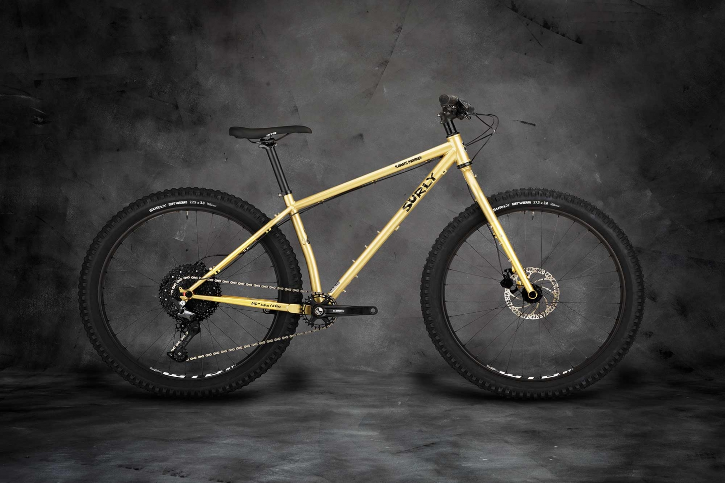 Karate Monkey complete bike, Fool's Gold
