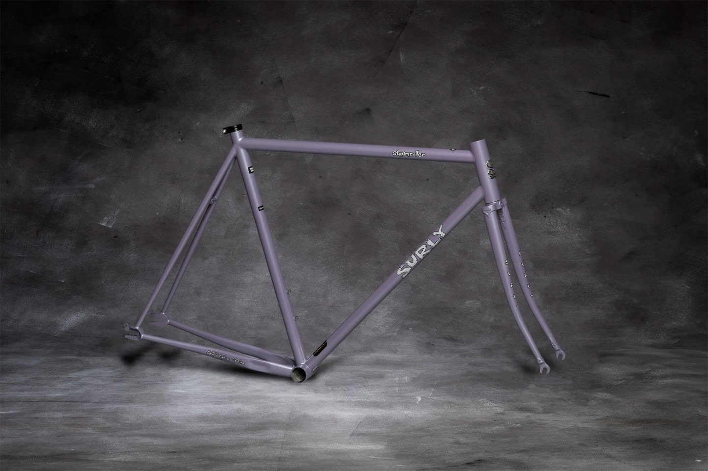 Surly Steamroller Frameset - Ministry Gray
