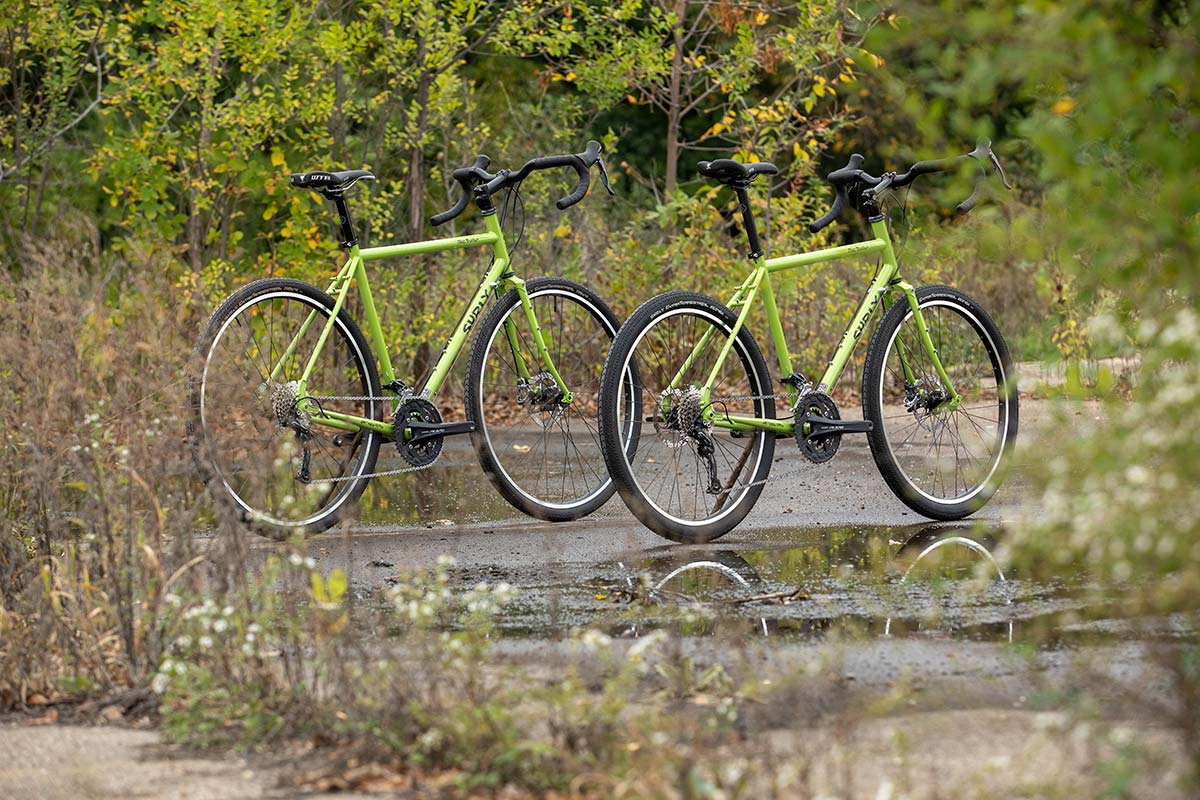 Surly Disc Trucker bicycle touring