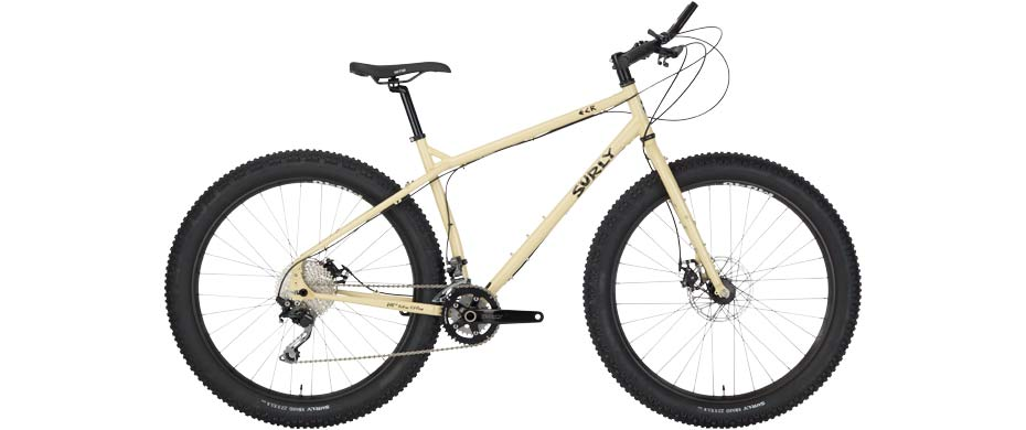 ECR 27+ beige complete bike side view