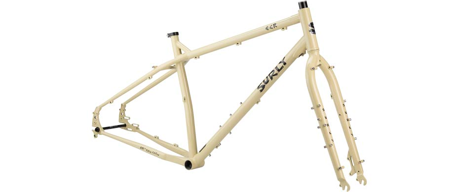 ECR 27+ beige frameset side view