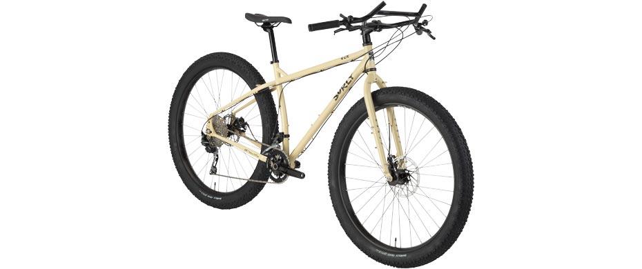 ECR beige complete bike front 3/4 view