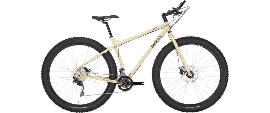 ECR beige complete bike side view