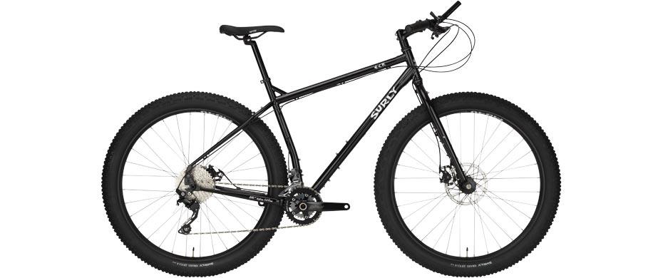 ECR black complete bike side view