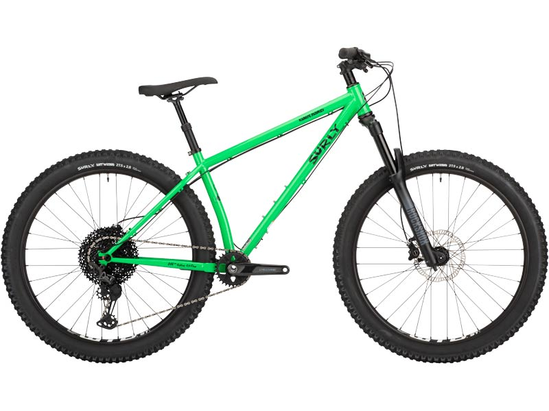 Karate Monkey front suspension bike, High Fiber Green