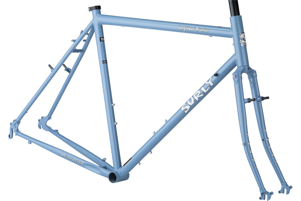 Surly Long Haul Trucker Frameset 700c - Blue Suit of Leisure
