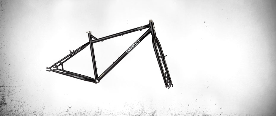 1x1 Cash Black Frameset