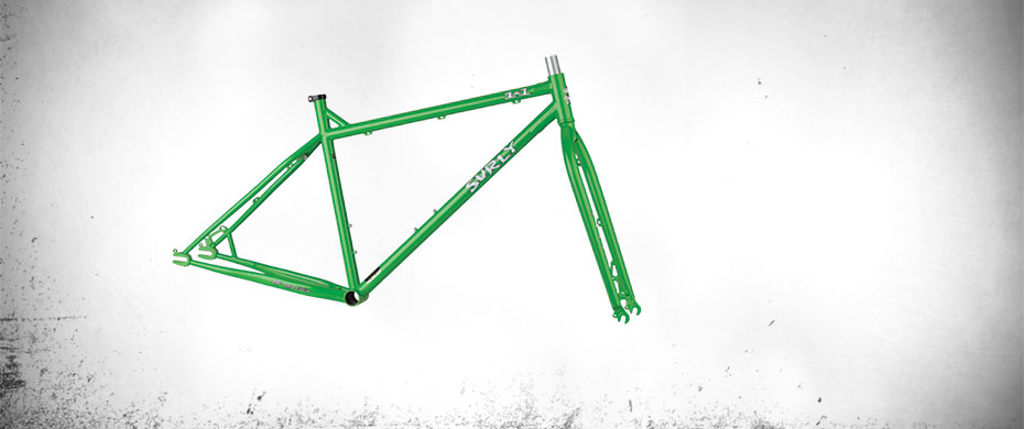 1x1 Stash Green Frameset
