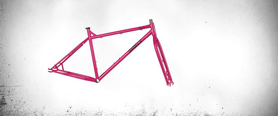 1x1 Pepto Pink Frameset