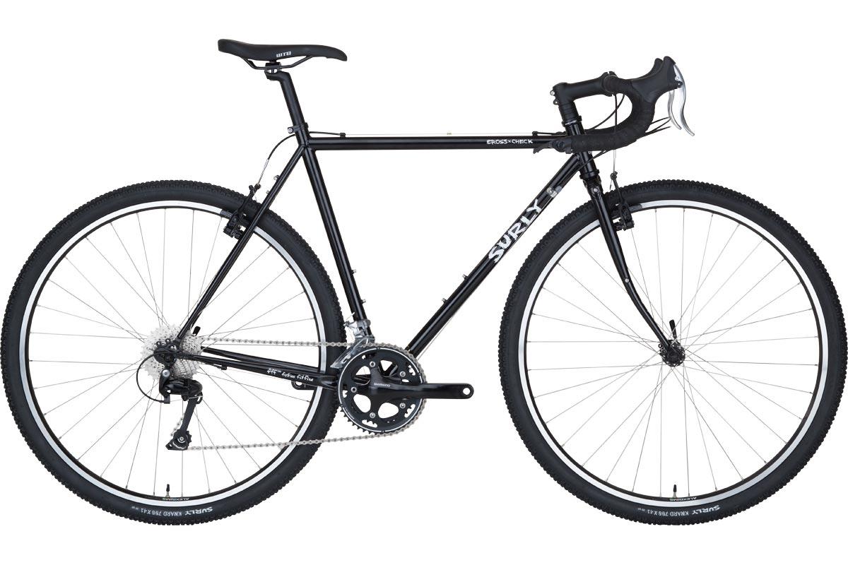Surly Cross-Check Bike - Gloss Black