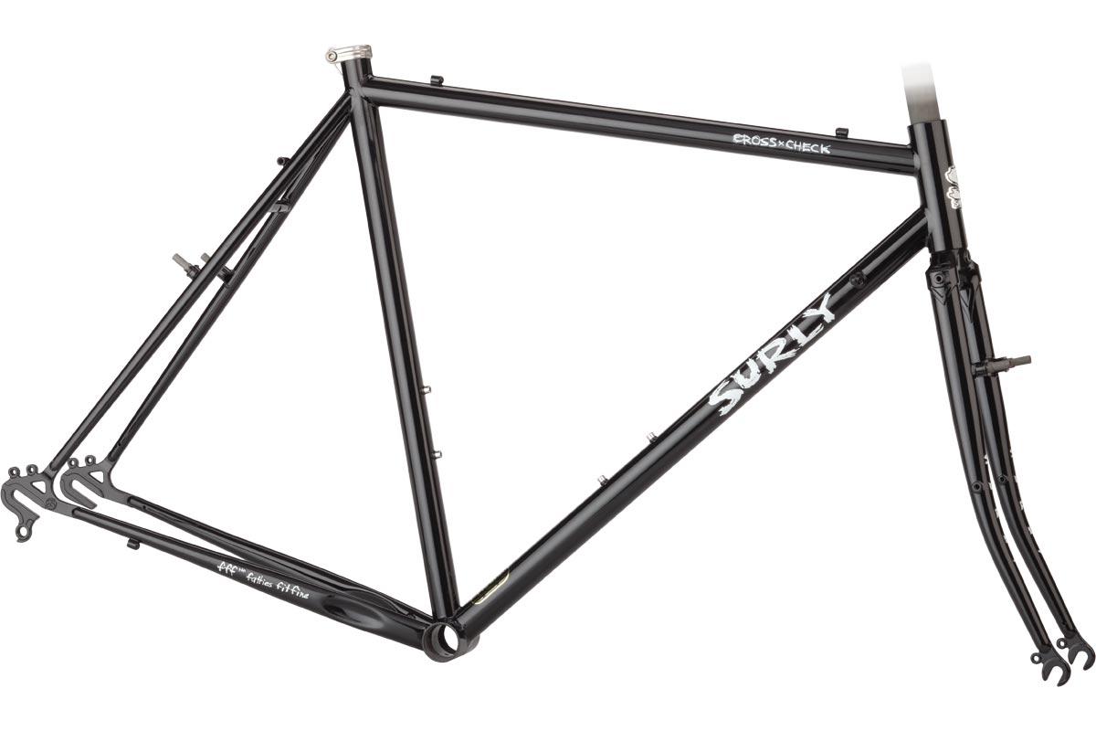 Surly Cross-Check Frameset - Gloss Black