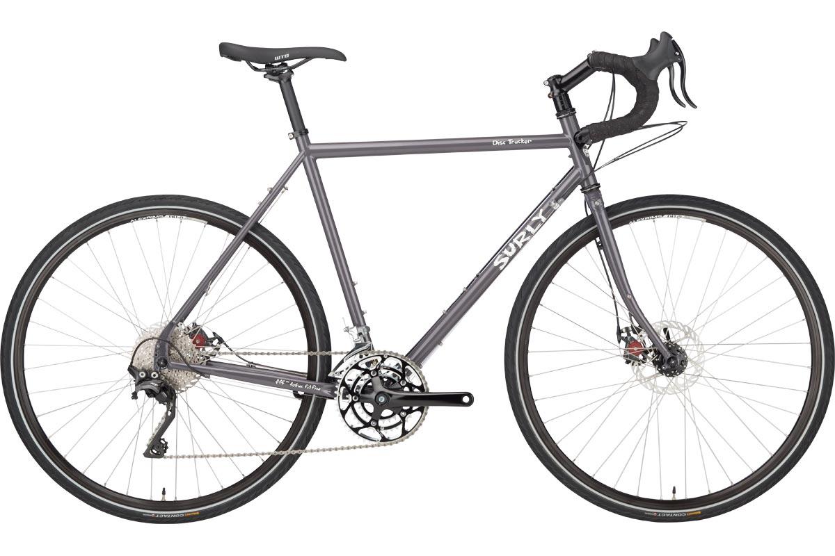 Disc Trucker Bike Bituminous Gray