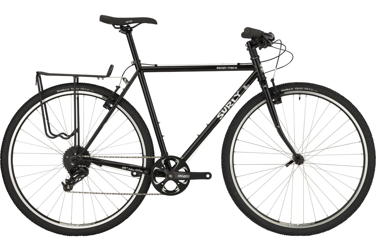 Surly Flat Bar Cross-Check Bike, Black