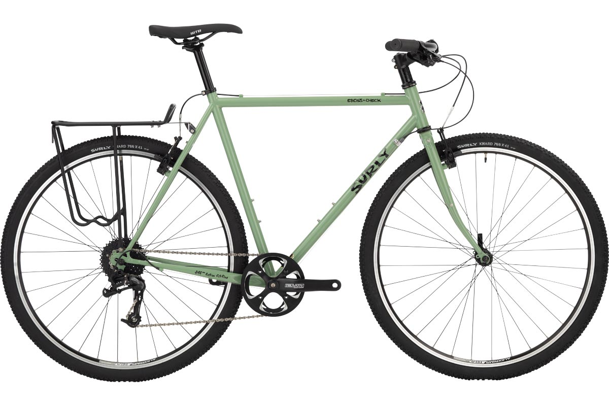 Surly Flat Bar Cross-Check Bike, Sage Green