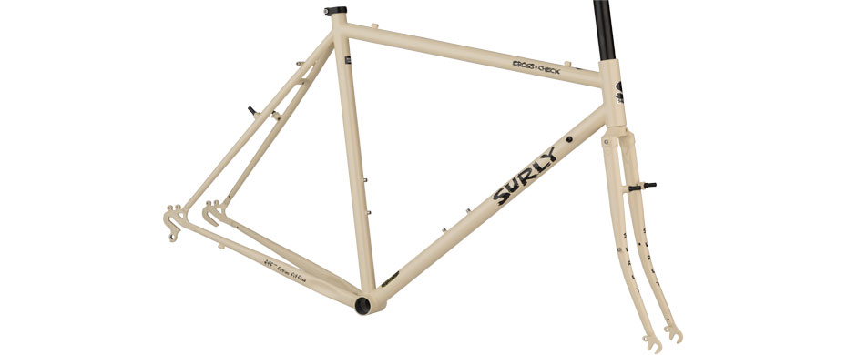Flat Bar Cross-Check frameset - my milkshake