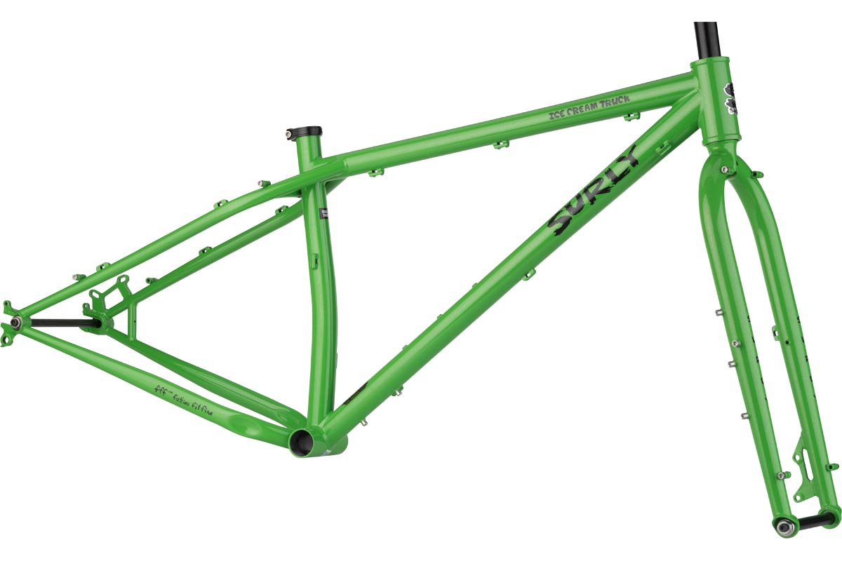 Ice Cream Truck Frame Plutonium Sparkle Green