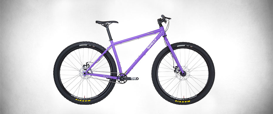 Surly Karate Monkey Bike, Purple