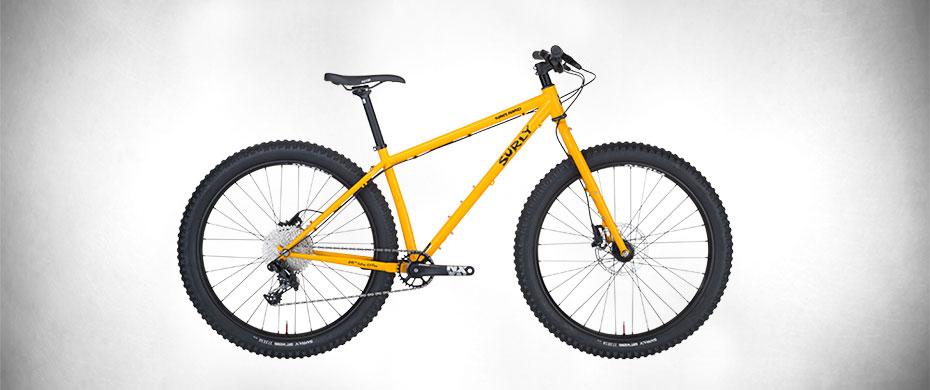 Surly Karate Monkey Bike, Orange