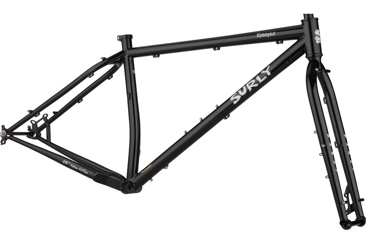 Krampus Frameset Dark Black
