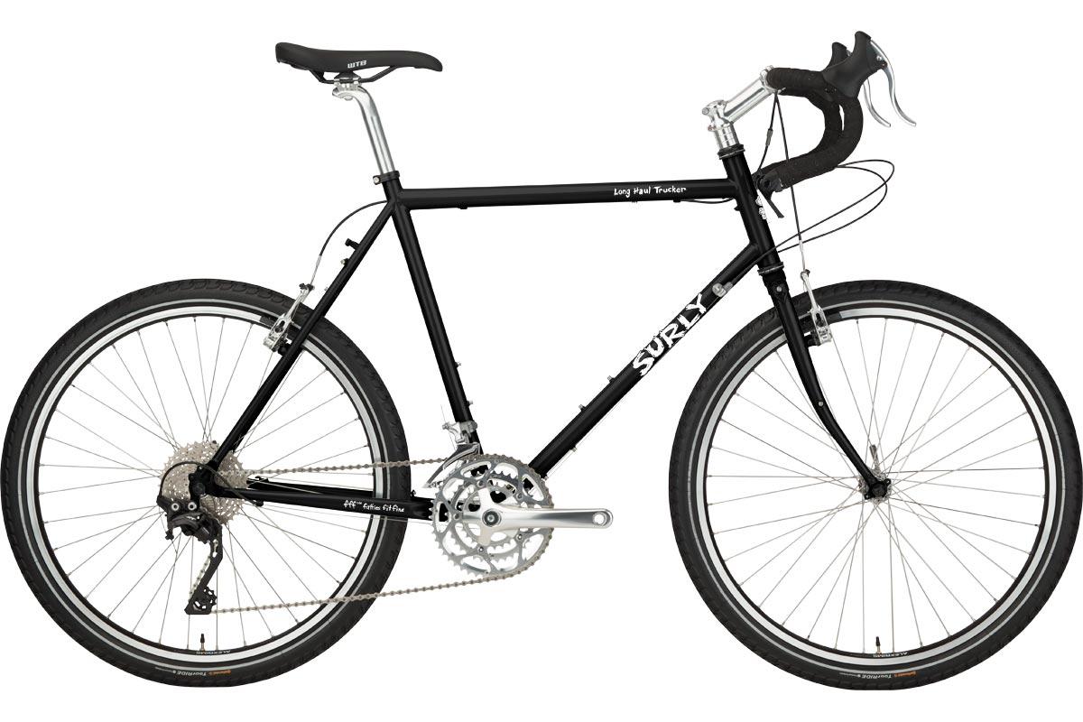 Surly Long Haul Trucker Bike 26 - Blacktacular