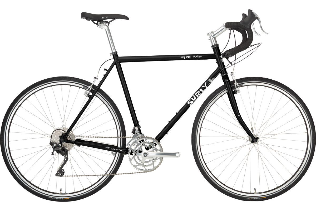 Surly Long Haul Trucker Bike 700c - Blacktacular