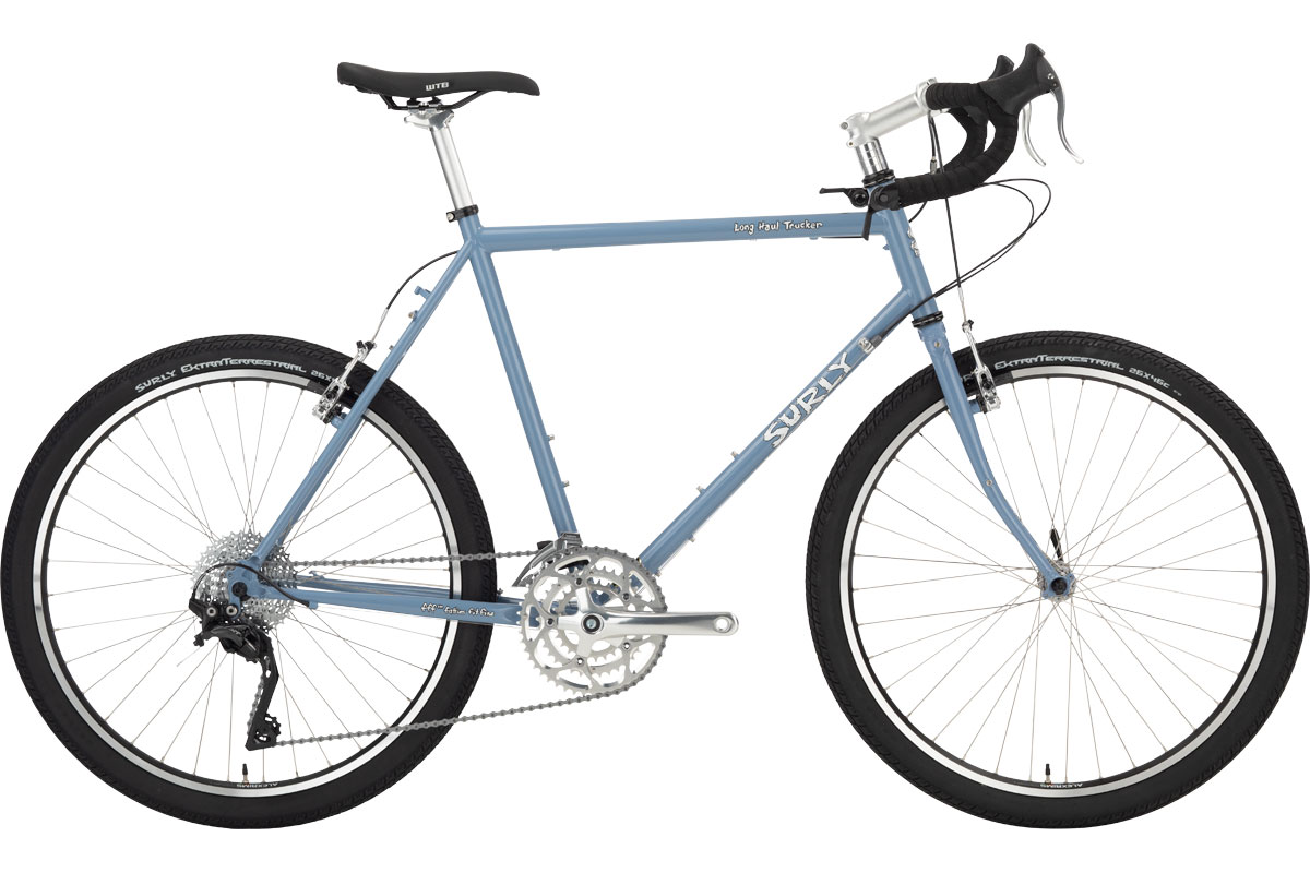 Surly Long Haul Trucker Bike 26 - Blue Suit of Leisure