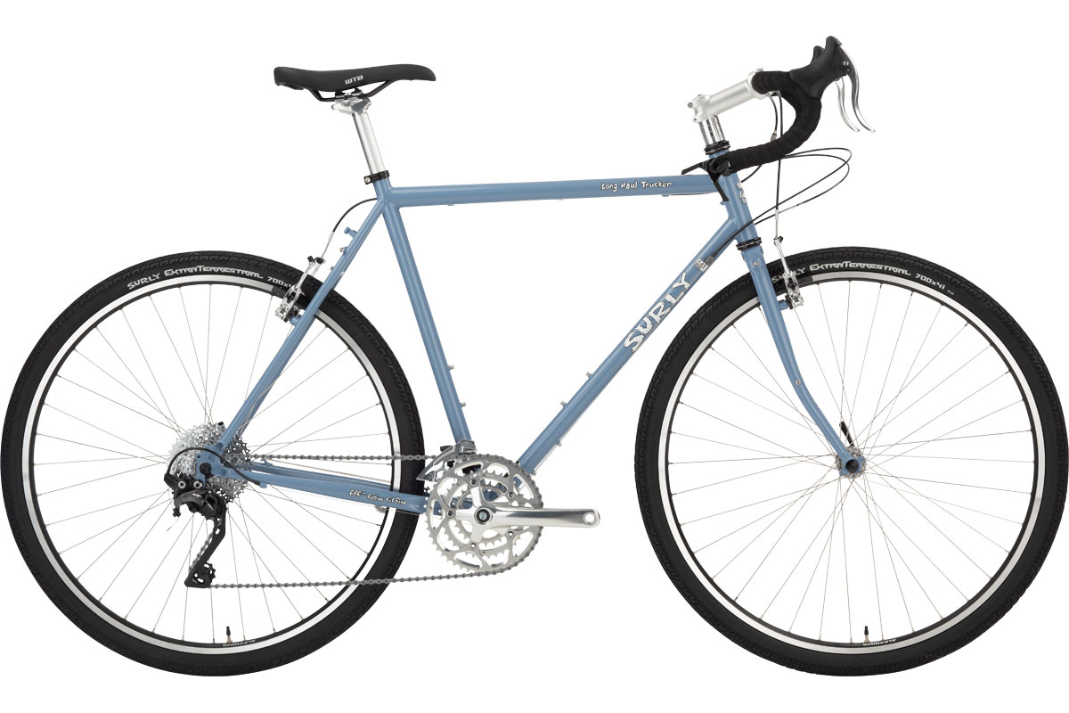 Surly Long Haul Trucker Bike 700c - Blue Suit of Leisure