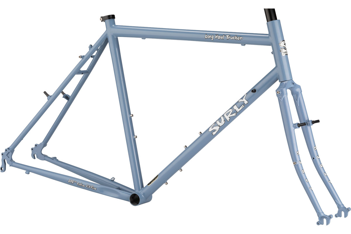 Surly Long Haul Trucker Frameset 26 - Blue Suit of Leisure