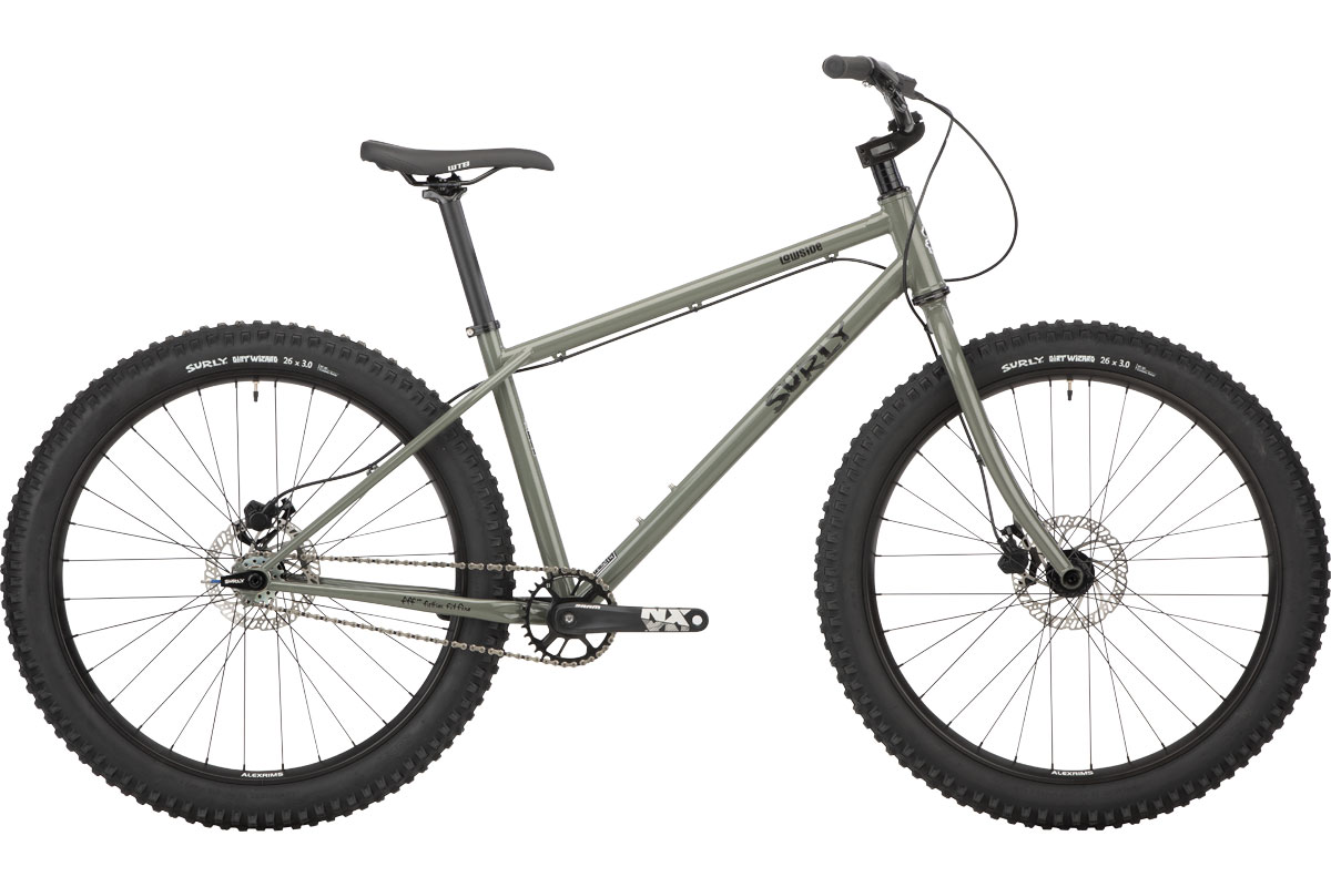 surly lowside single speed mountain bike
