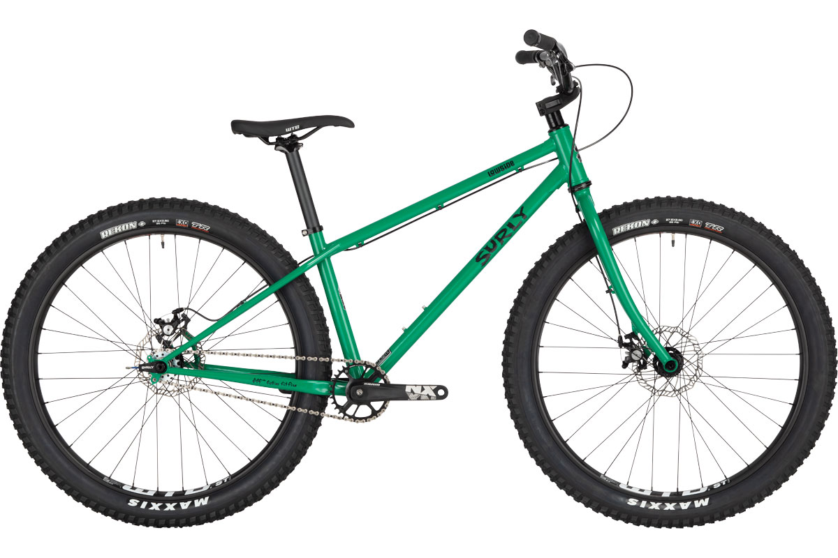 Lowside Bike - Green Astro Turf