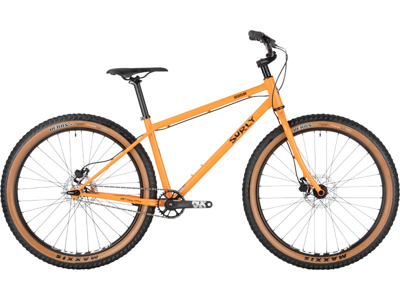Surly Lowside Bike sideview - Dream Tangerine