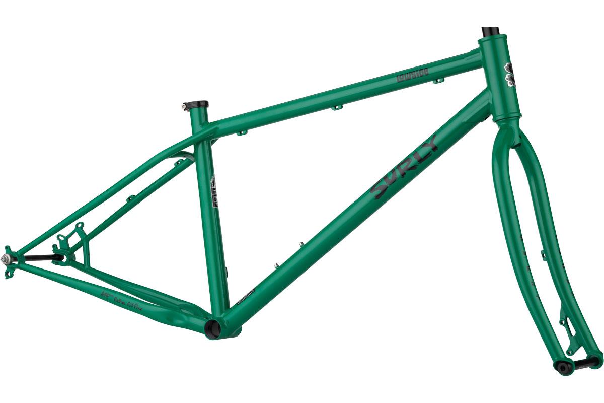 Lowside Frameset - Green Astro Turf