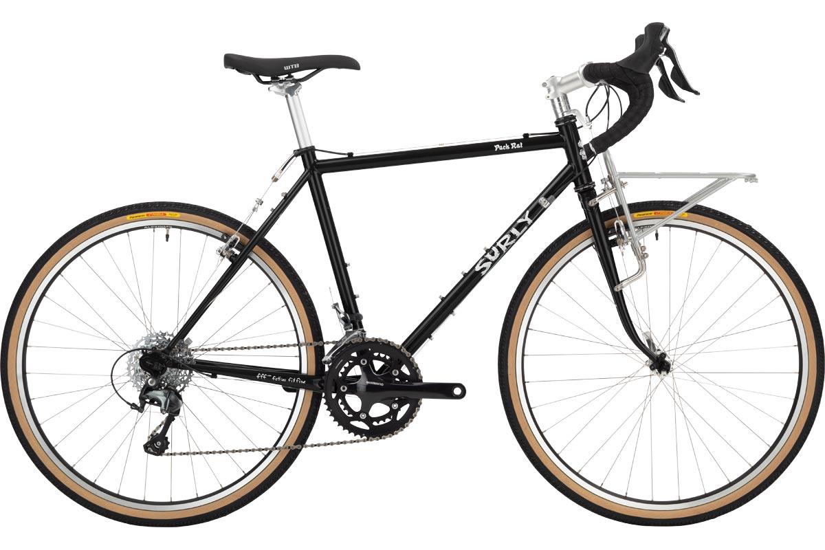 Surly Pack Rat Bike - 26 - Hi-Viz Black